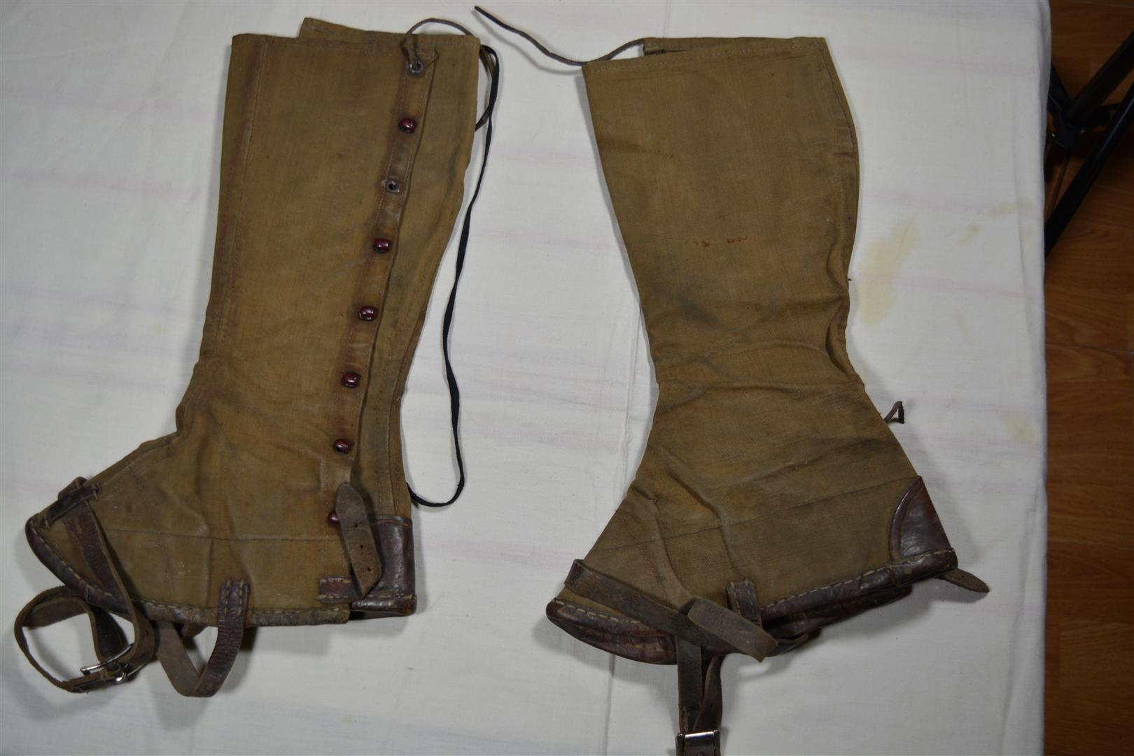 WW2 German DAK Leggings