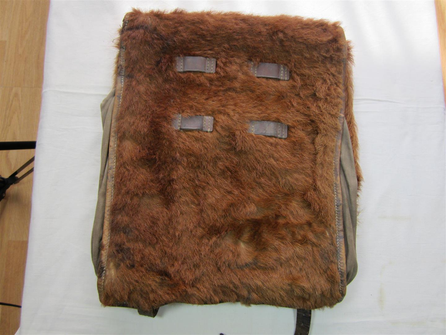 WW2 RAD Fur Back Pack