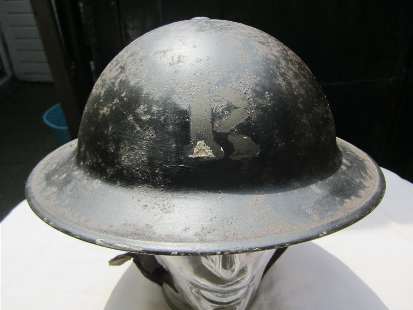 WW2 British CD Helmet, Rescue