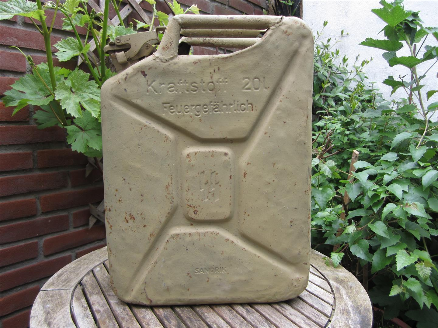 WW2 SS Jerry Can