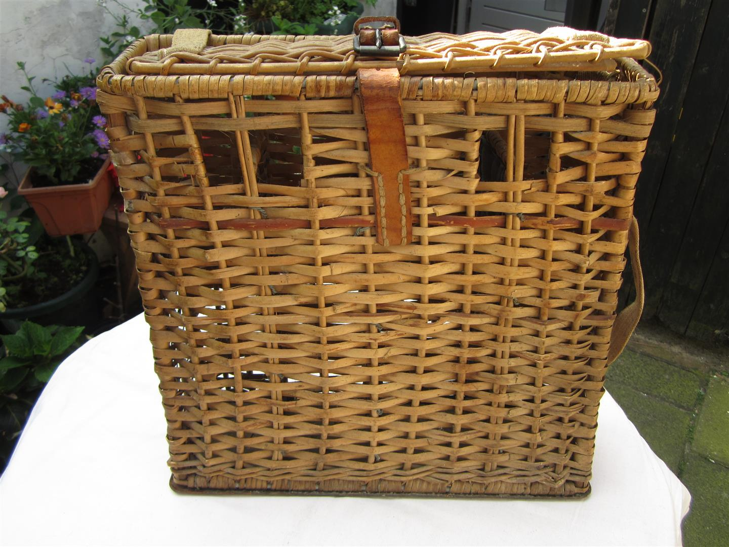 WW2 German 7.5cm PAK Shell Case Basket