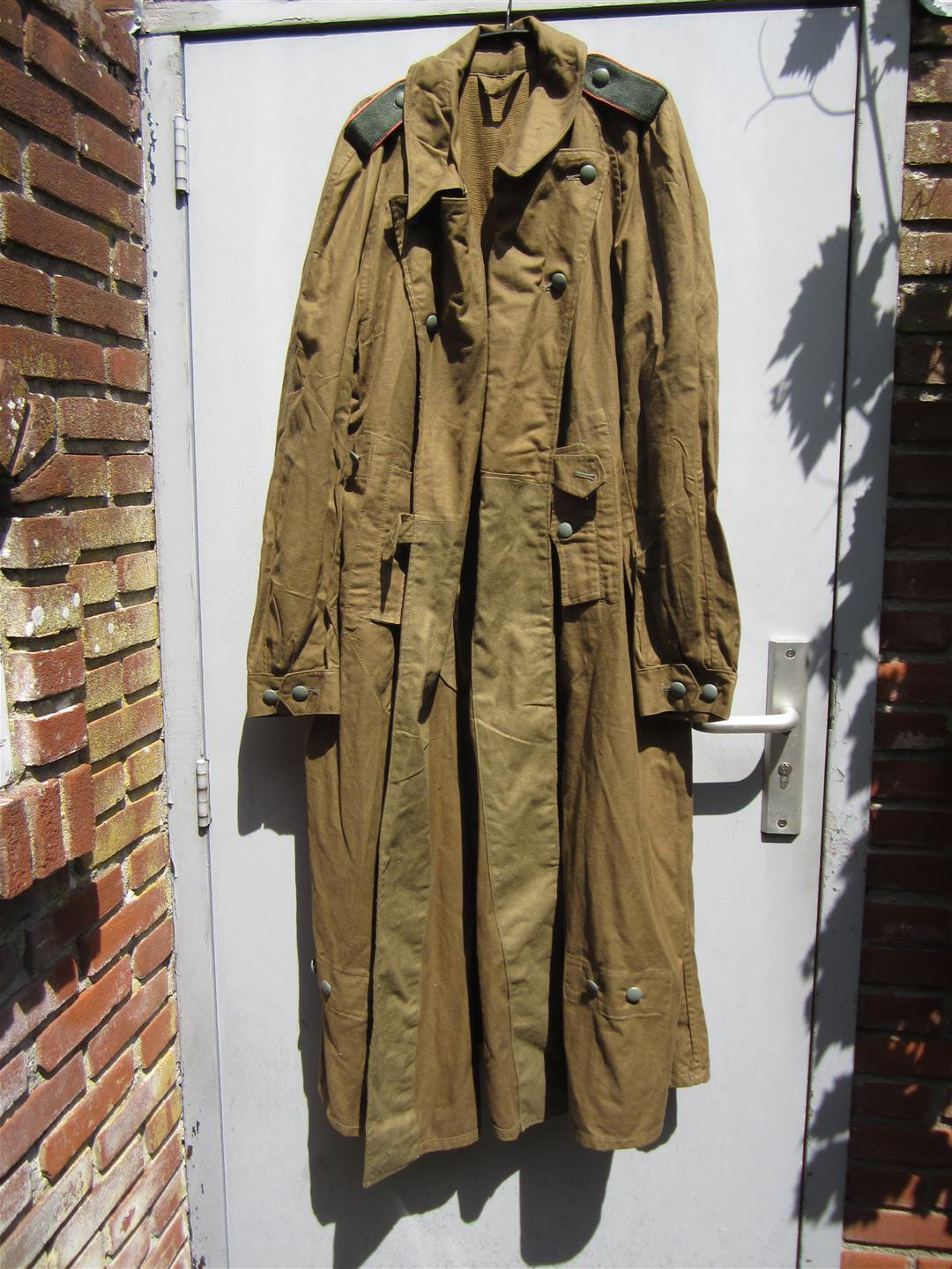 WW2 DAK Panzer Motorcyclist's Coat