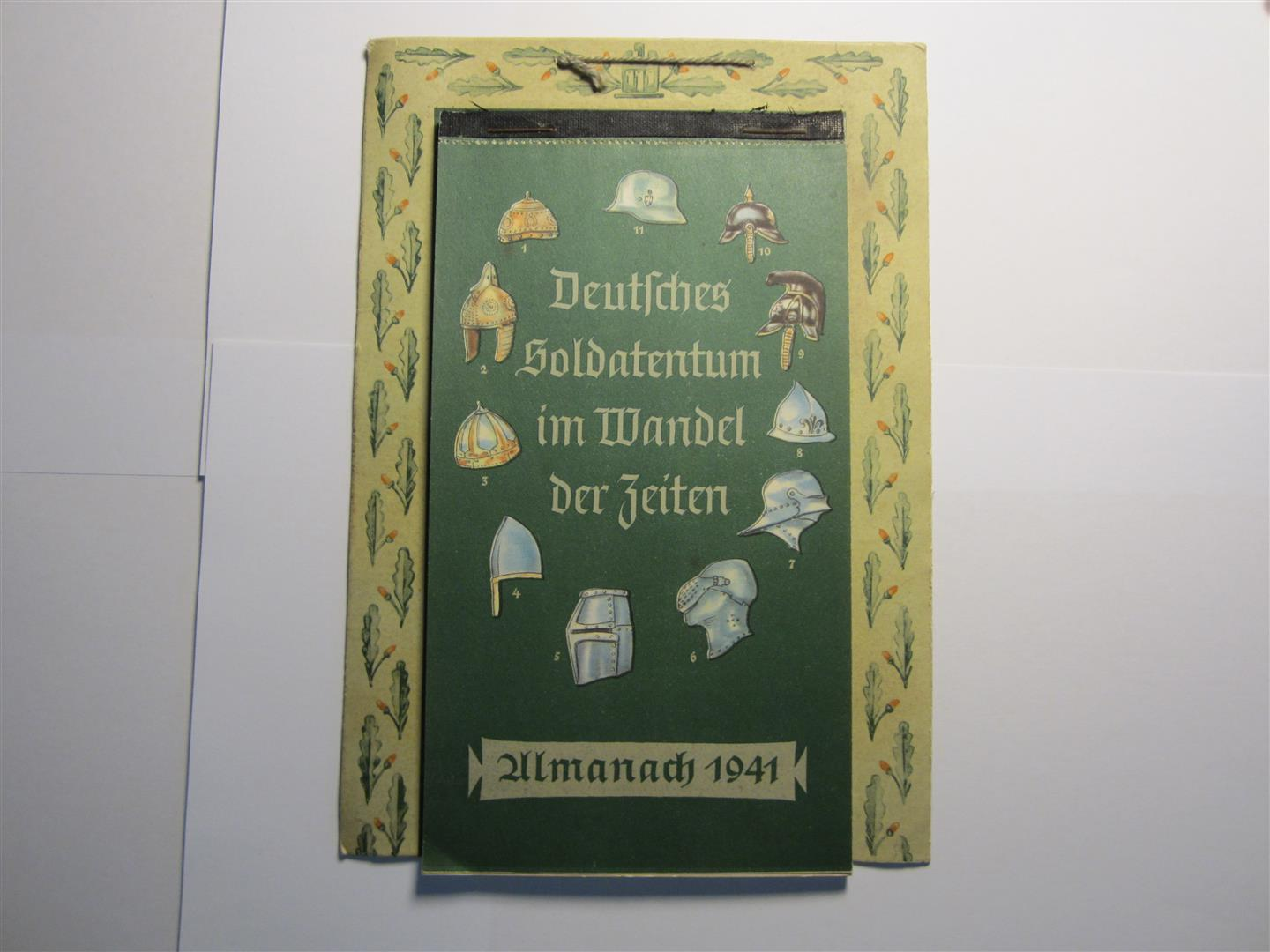 WW2 German 1941 Almanac