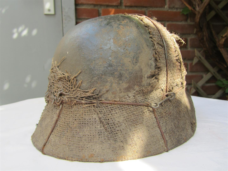 Captain Jacks Militaria Ww2 German M35 Wh Camo Helmet