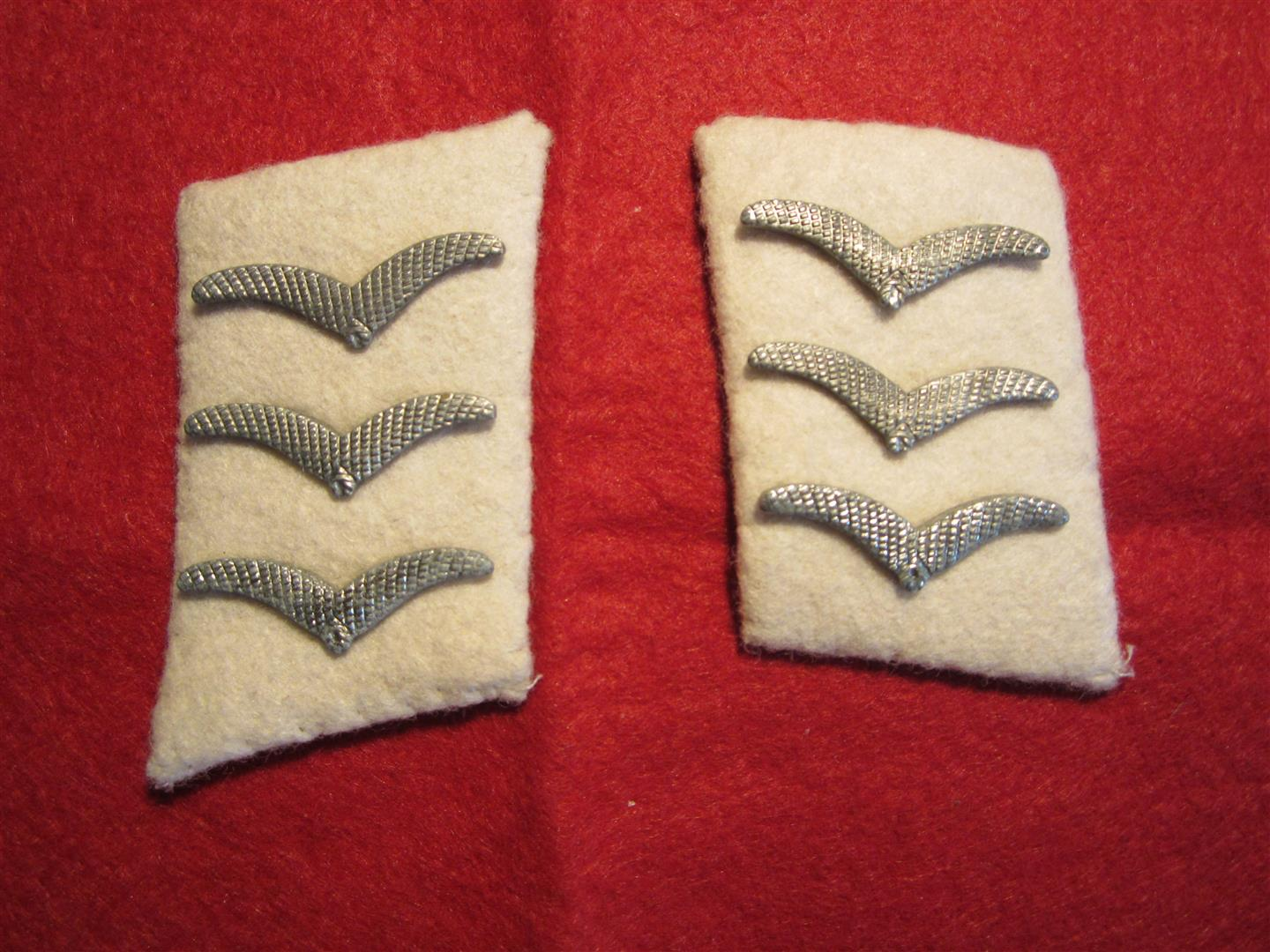 WW2 German WL Herman Goering Div. Collar Patches