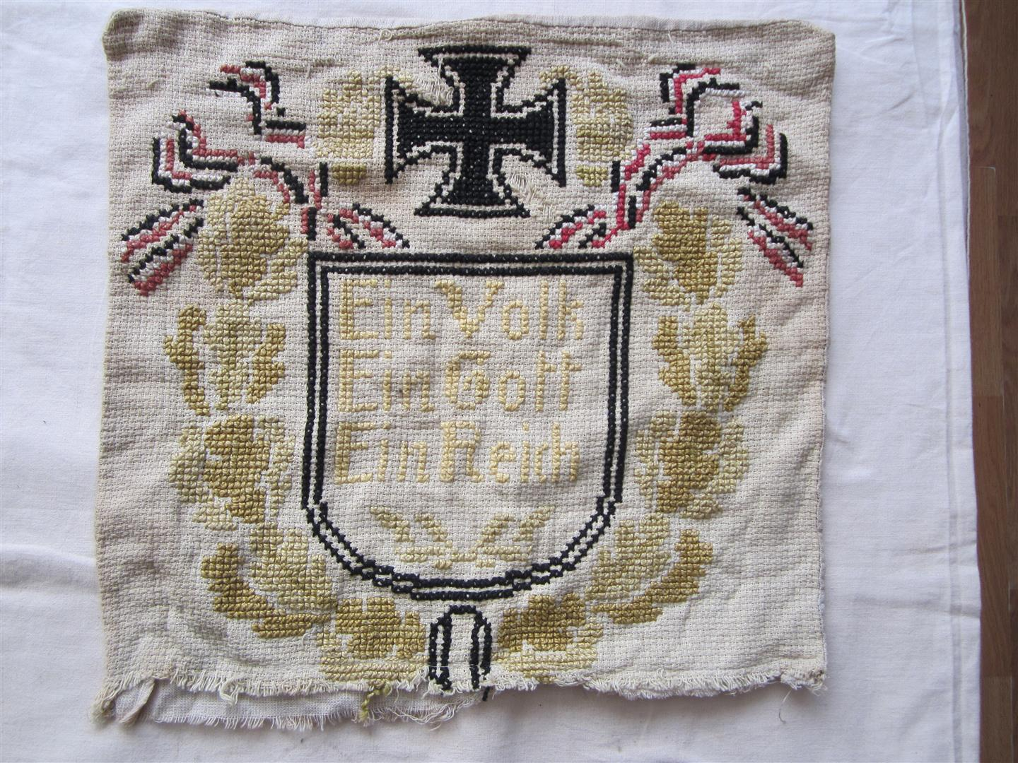WW1 German Tapestry