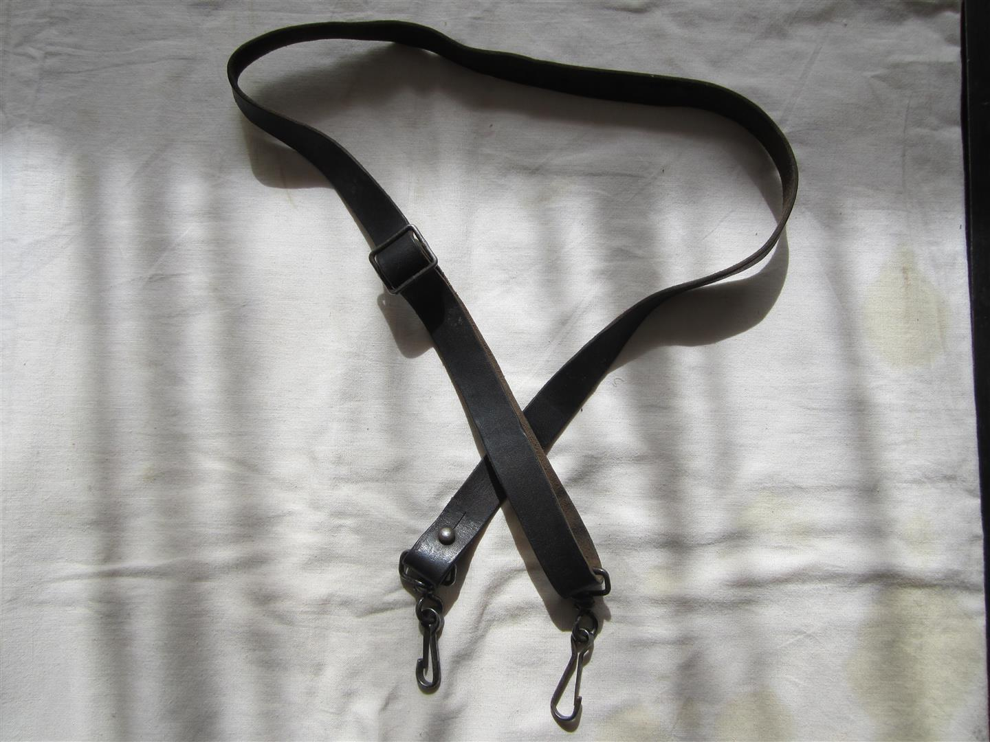 WW2 WH Leather Carrying Strap