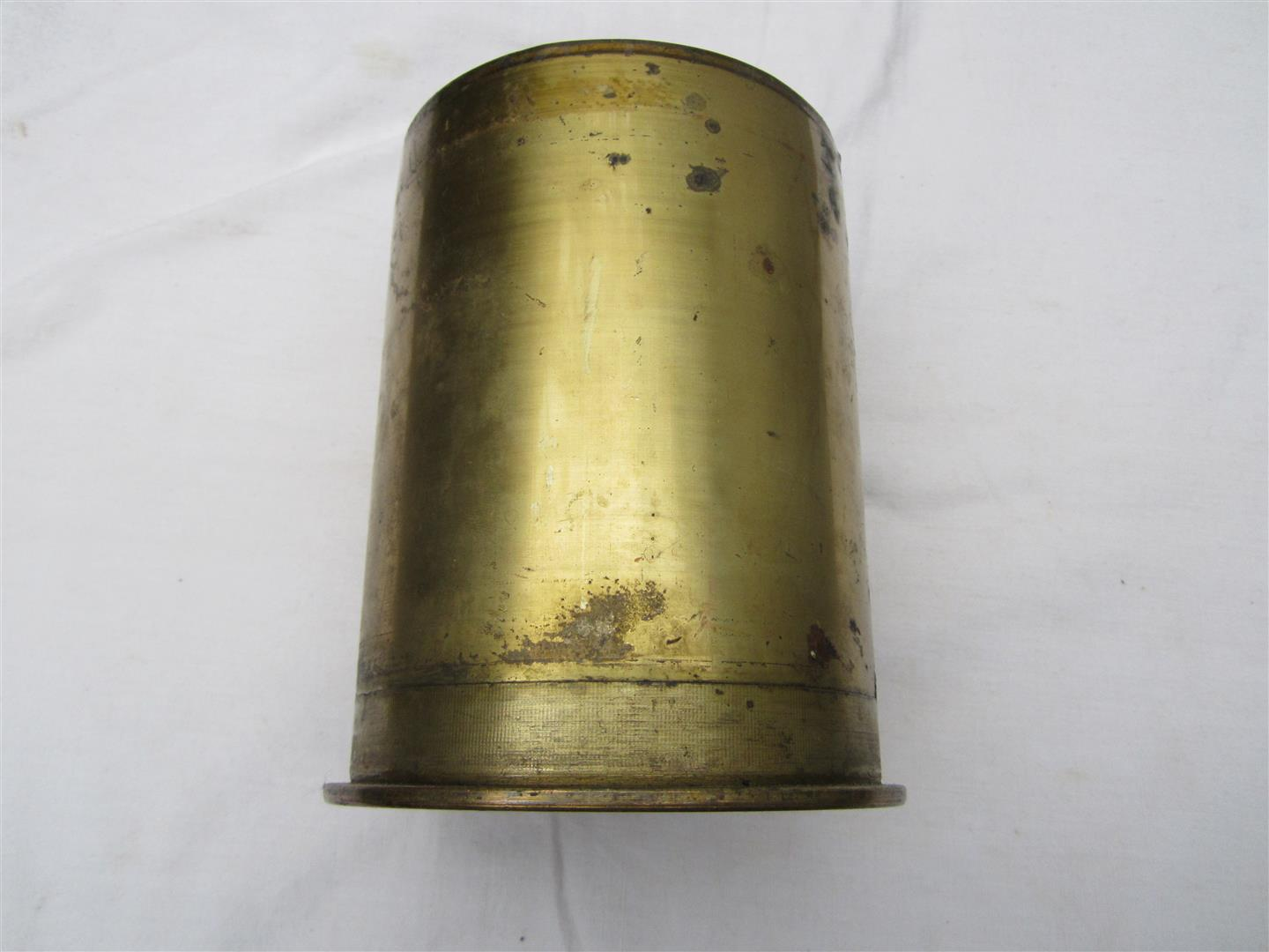 WW2 German 105mm Brass Shell Case