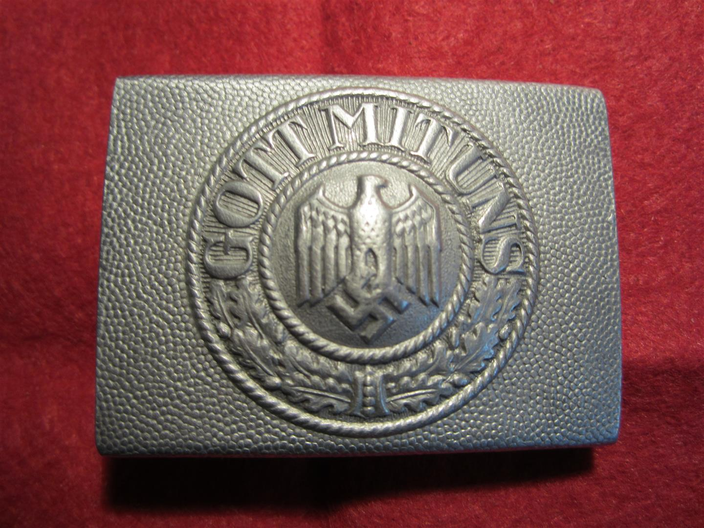 WW2 WH Aluminium Belt Buckle