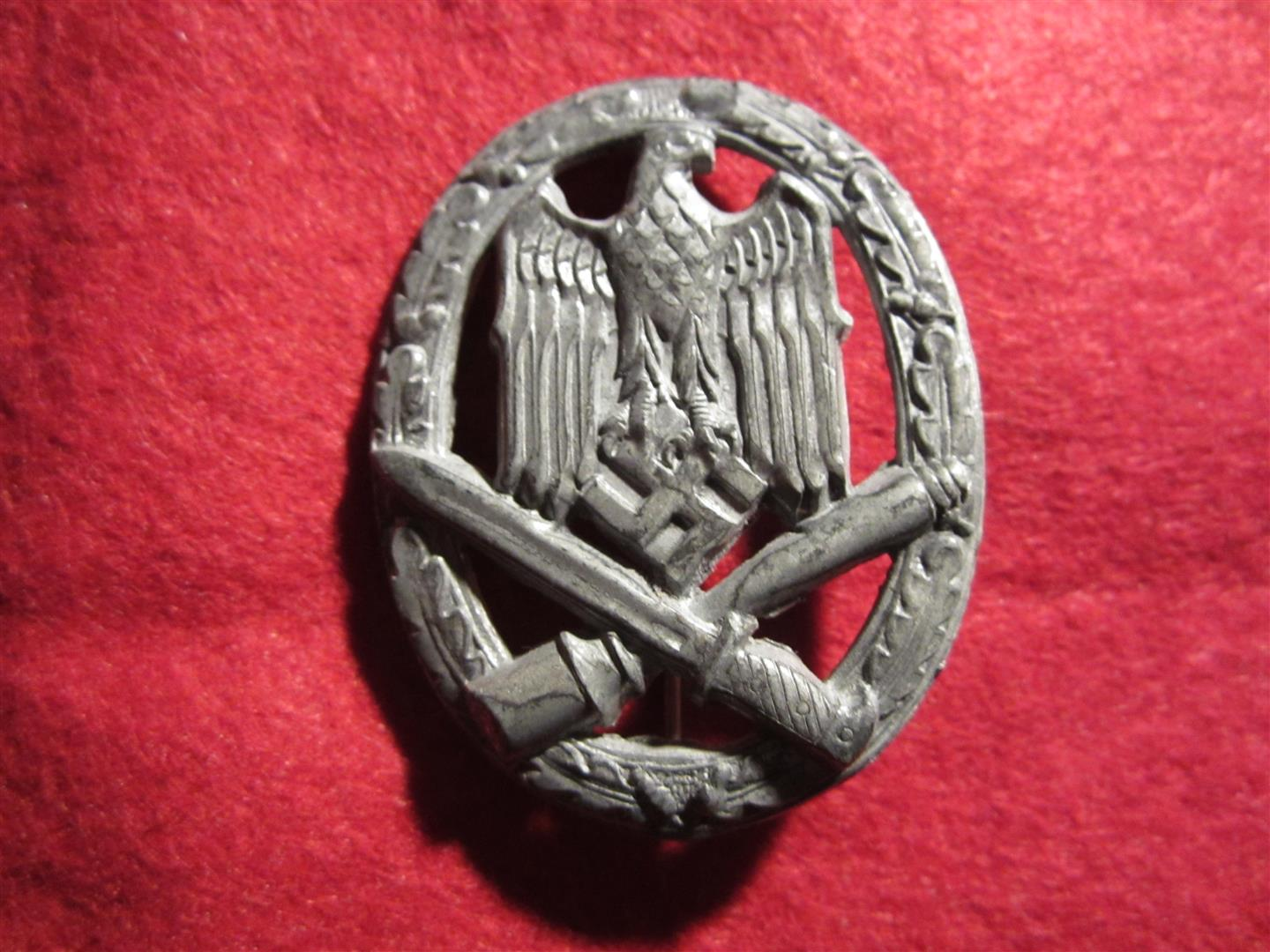 WW2 German General Assault Badge