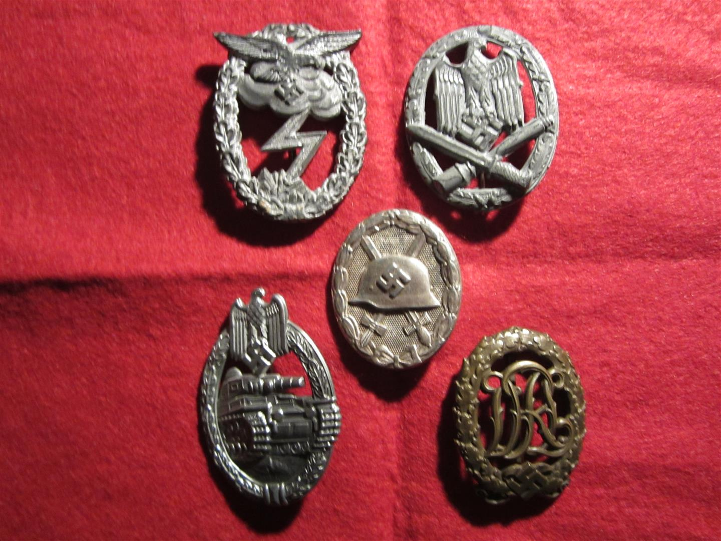 WW2 German Badges