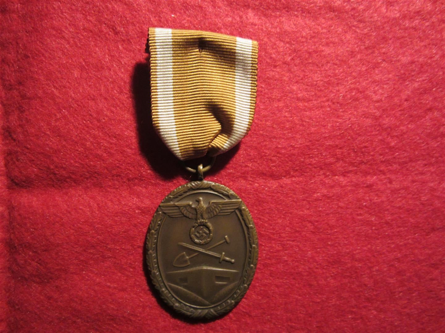 WW2 German Westwall Medal
