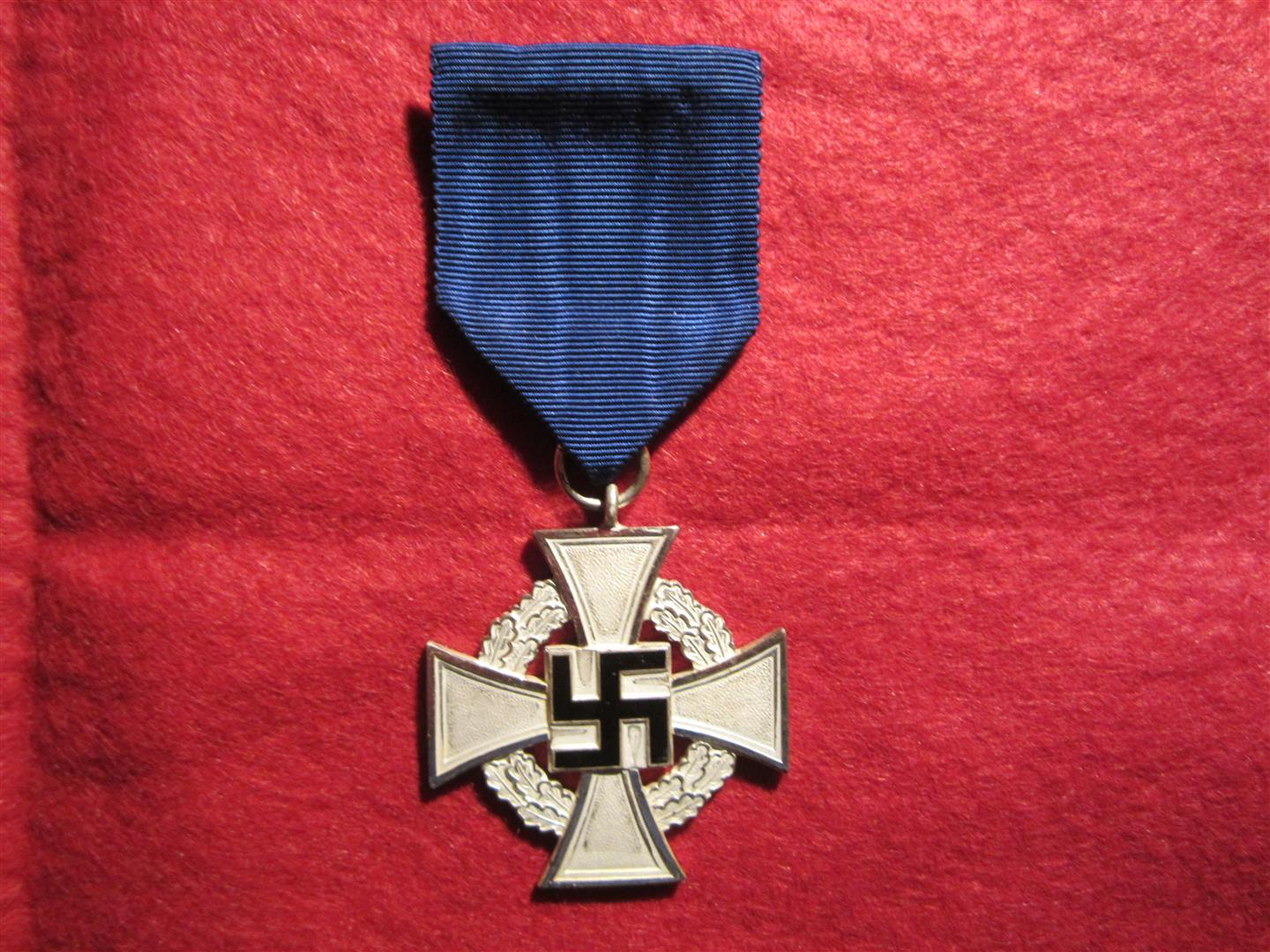 WW2 German 25 Year Faithfull Service Medal
