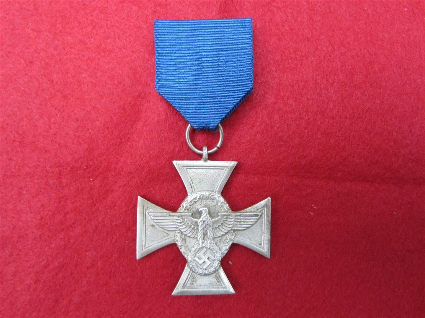 WW2 Polizei Faithfull Service Medal