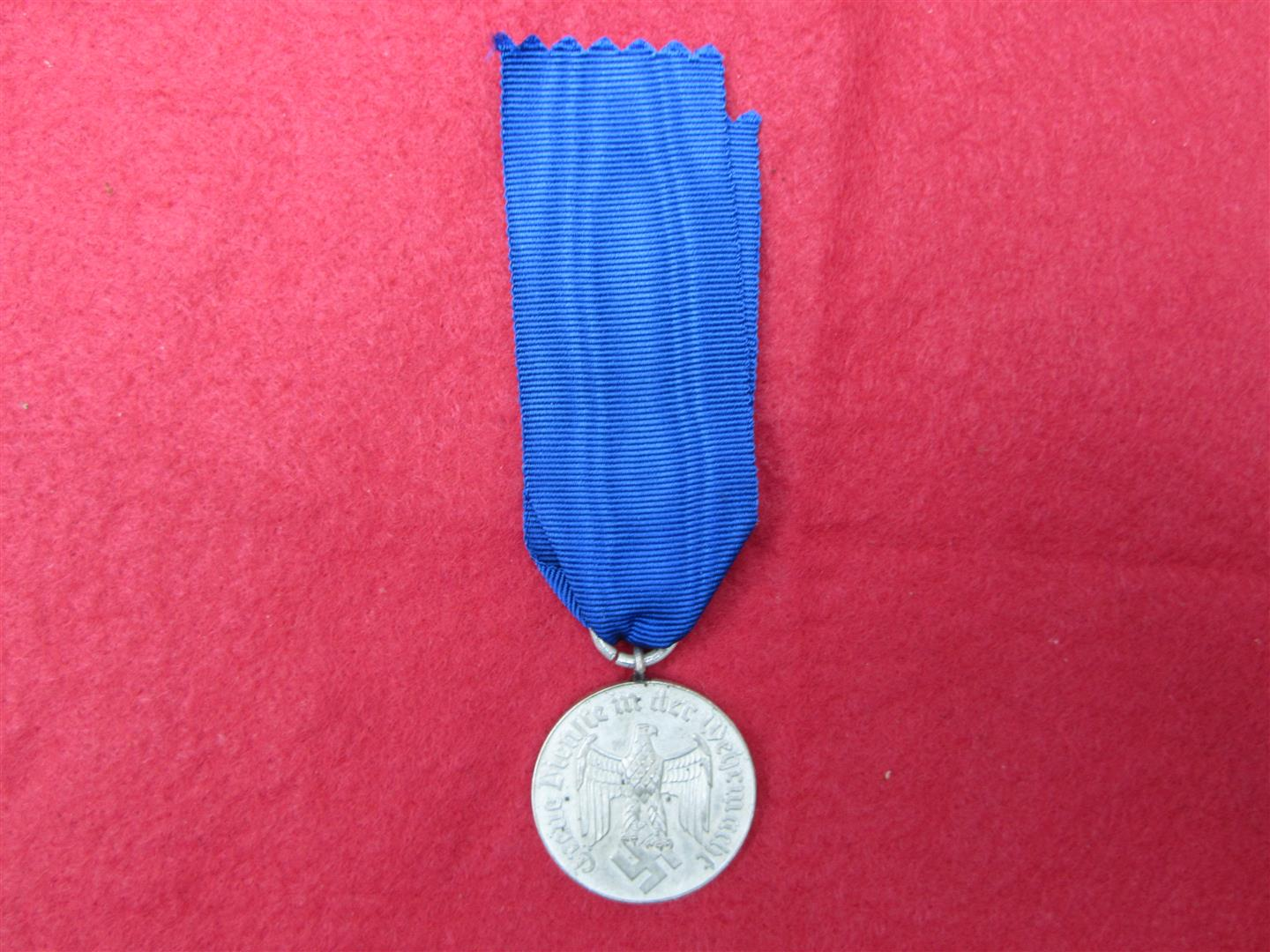 WW2 German WH 4 Year Service Medal