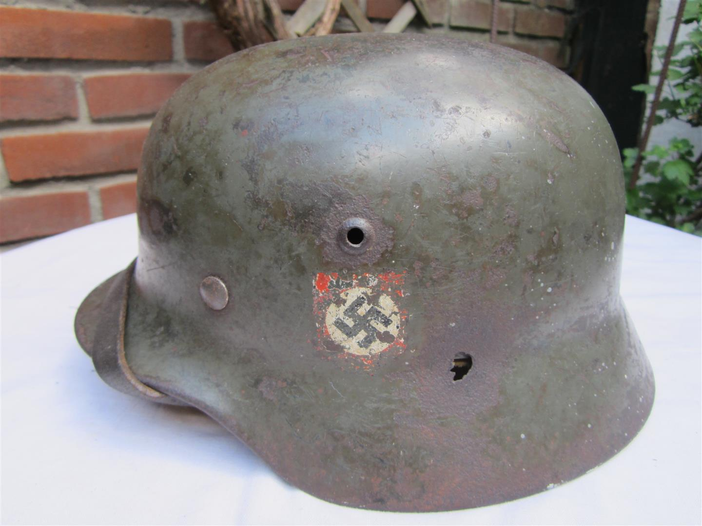 WW2 M35 SS Double Decal Helmet