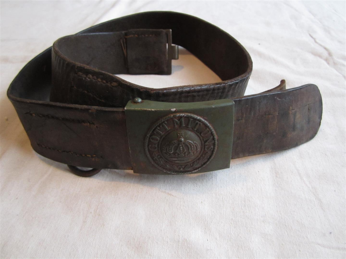 WW1 German Belt & Buckle