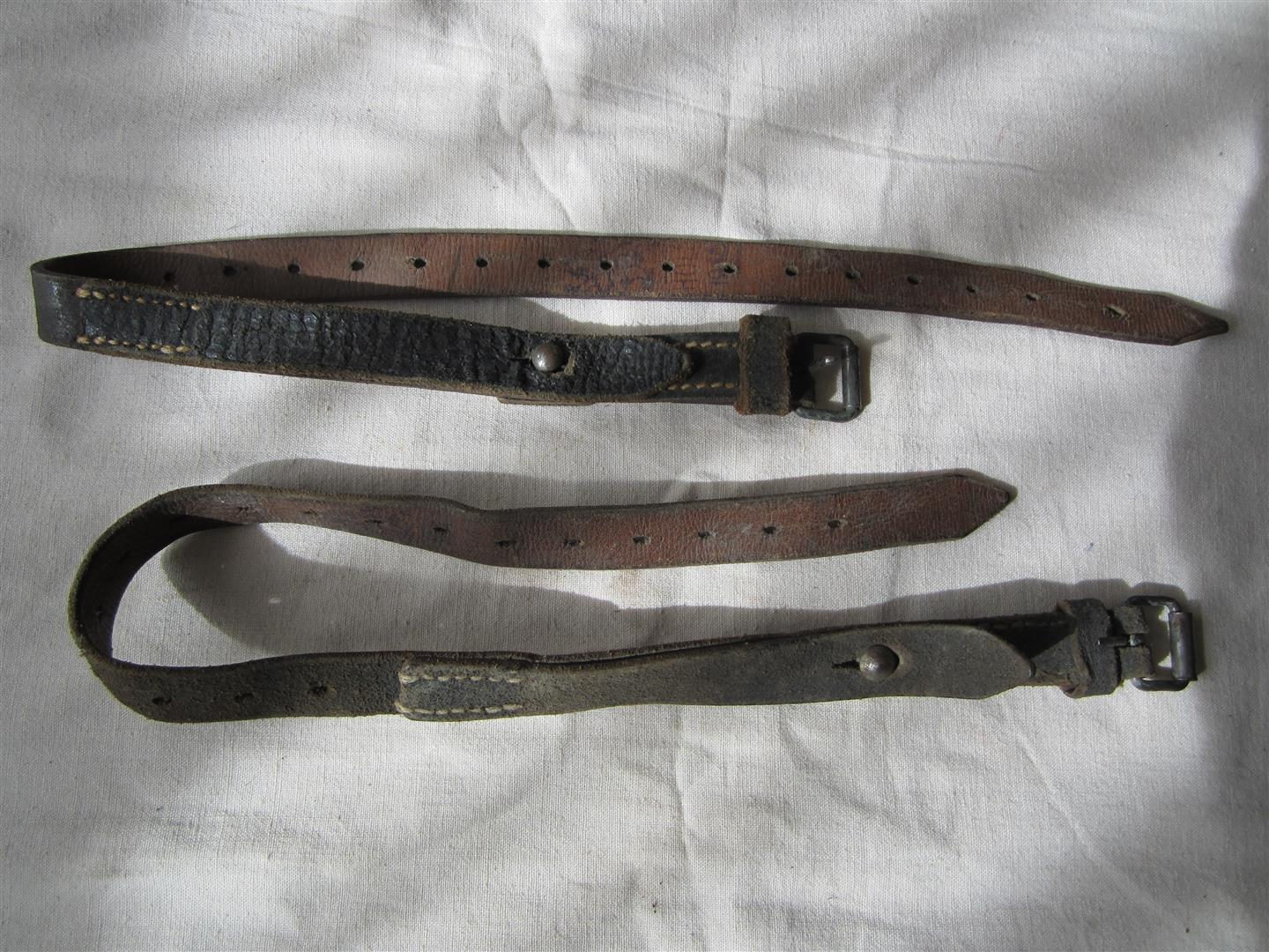 WW2 WH Equipment Straps