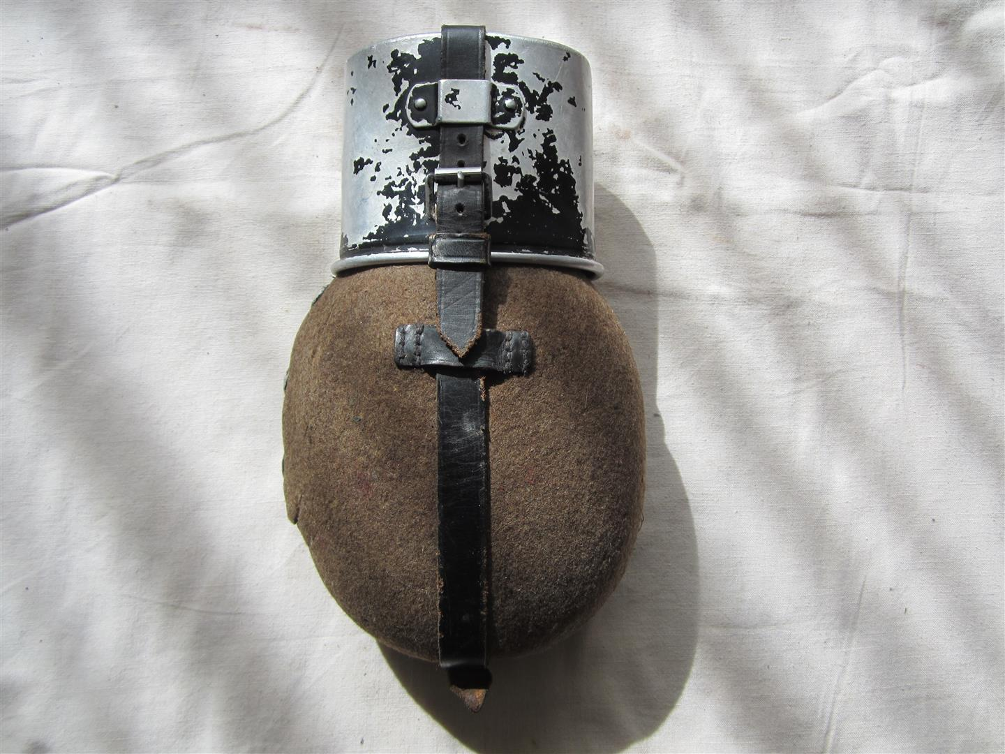 WW2 WH Aluminium Fieldbottle