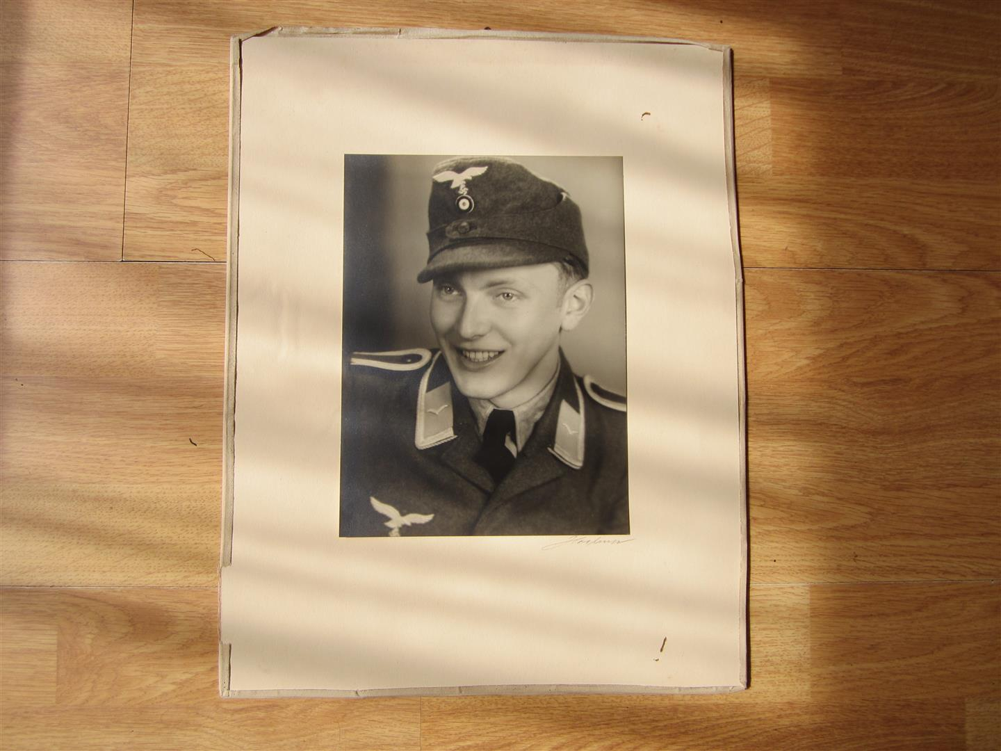 WW2 WL Photo of an Unterofficier