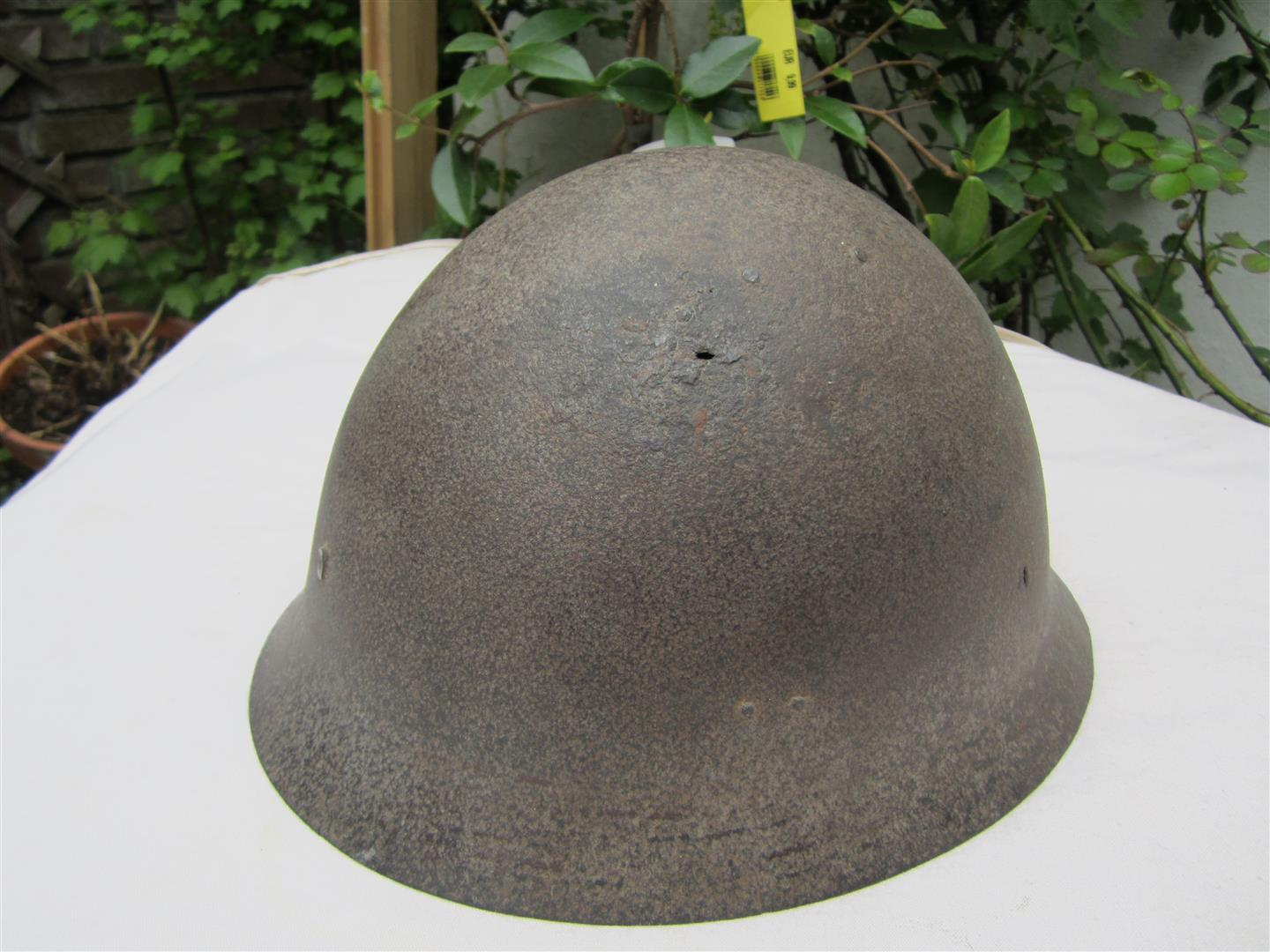 WW2 Japanese Helmet Shell