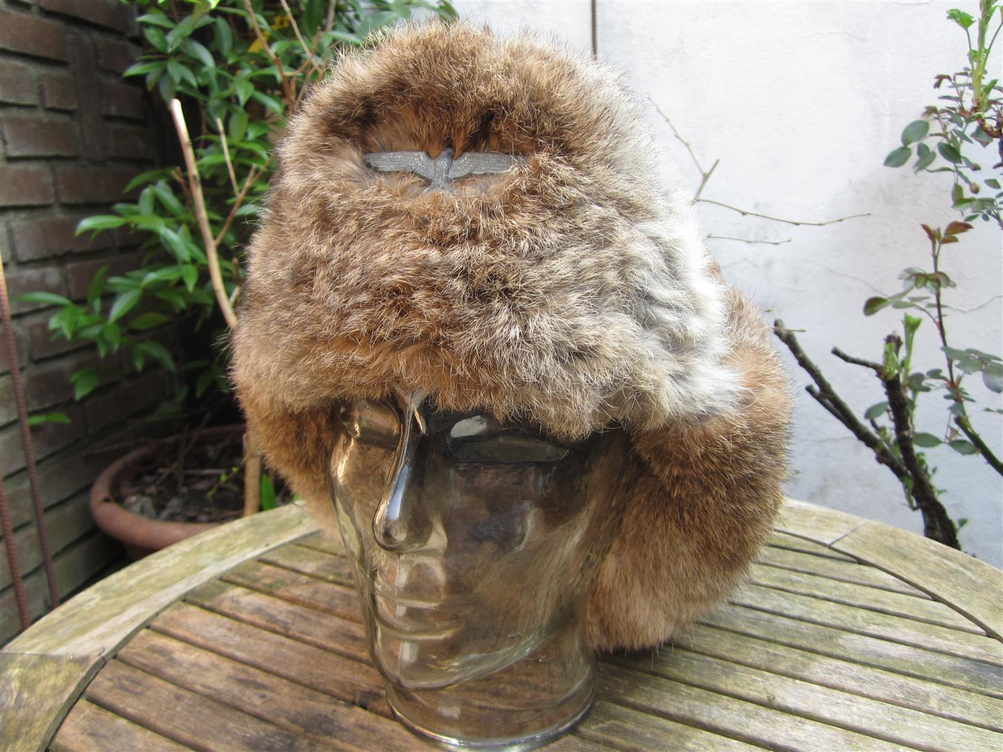 WW2 WH Winter Fur Hat