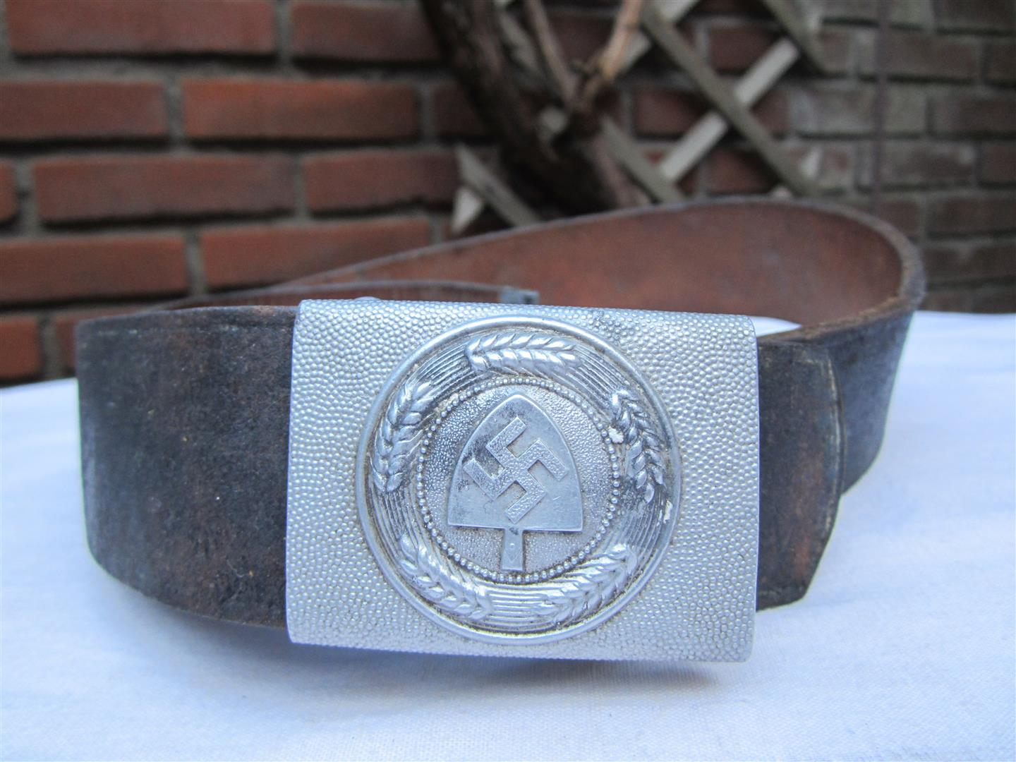 WW2 RAD Aluminium Belt & Buckle