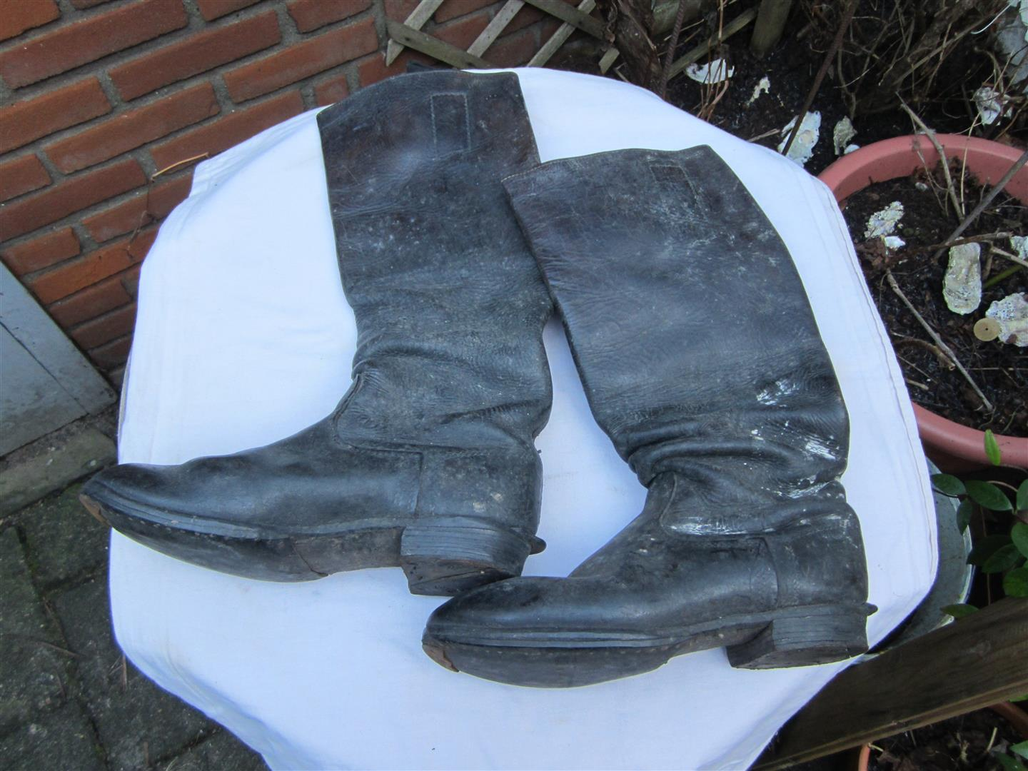 WW2 German Cavalry Officer's Boots