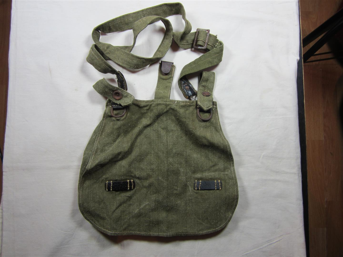 WW2 German WH Breadbag & Strap