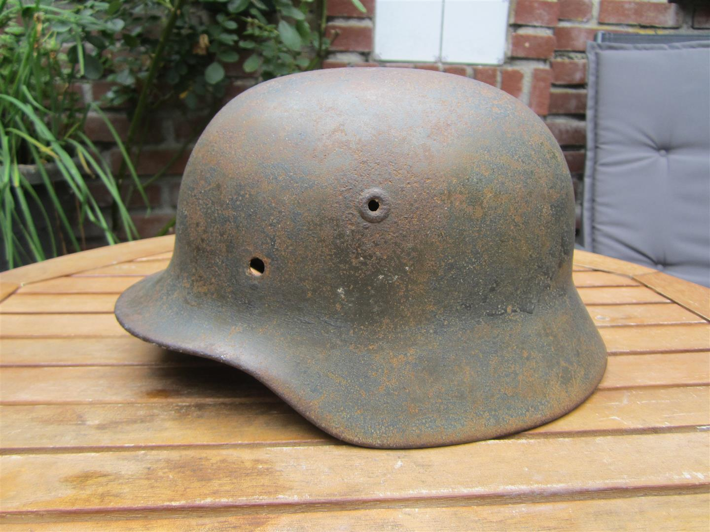 WW2 German M40 WH Helmet Shell
