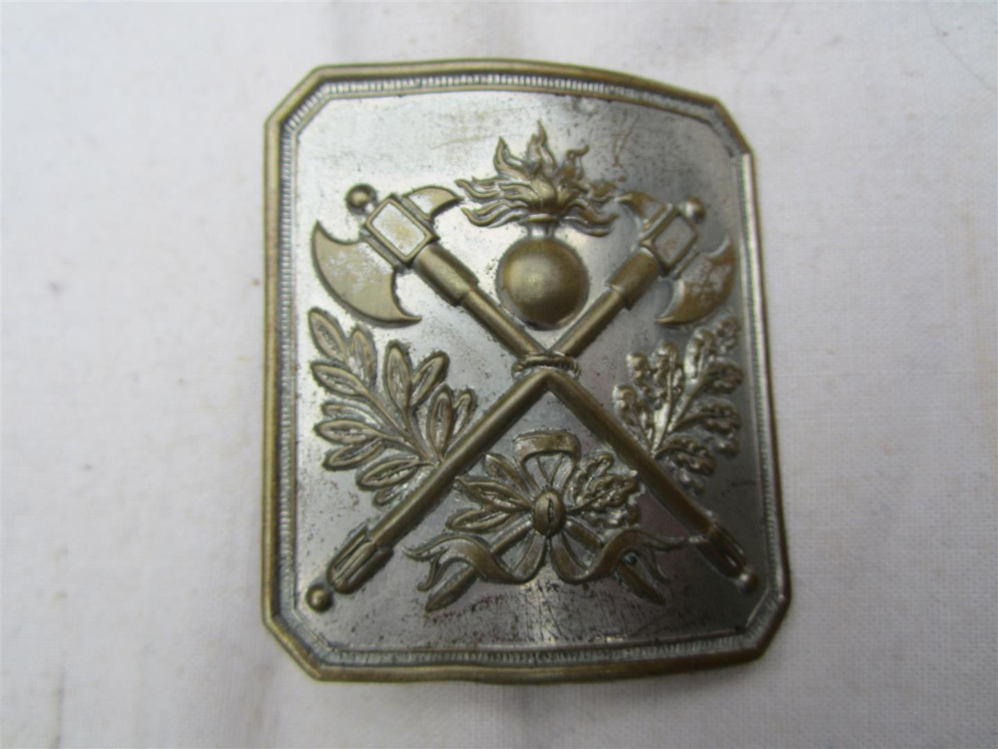 WW1 French Belt Buckle