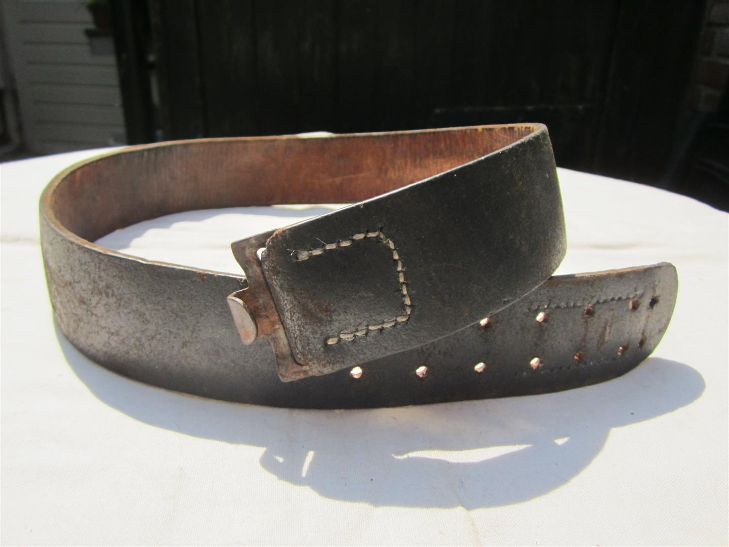 WW2 WH Belt Leather