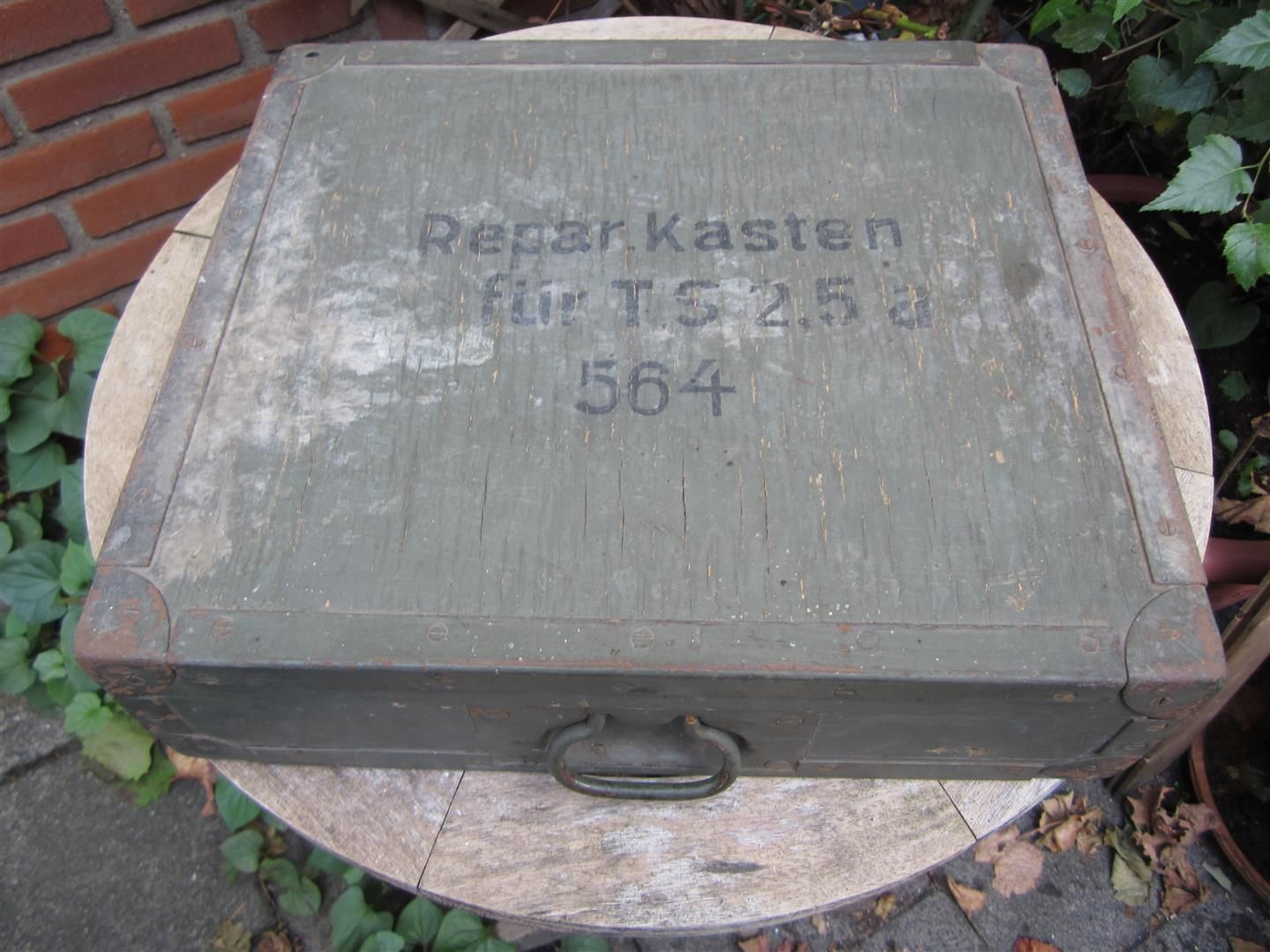 WW2 WL Fire Service Spare Parts Box