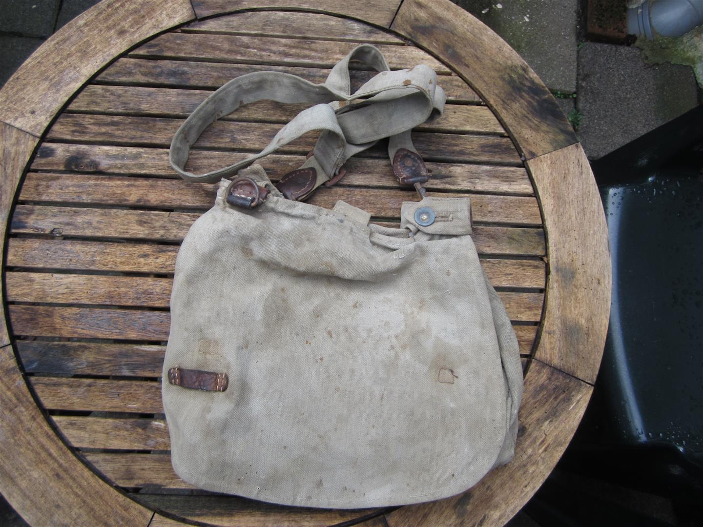 WW1 German Breadbag & Strap