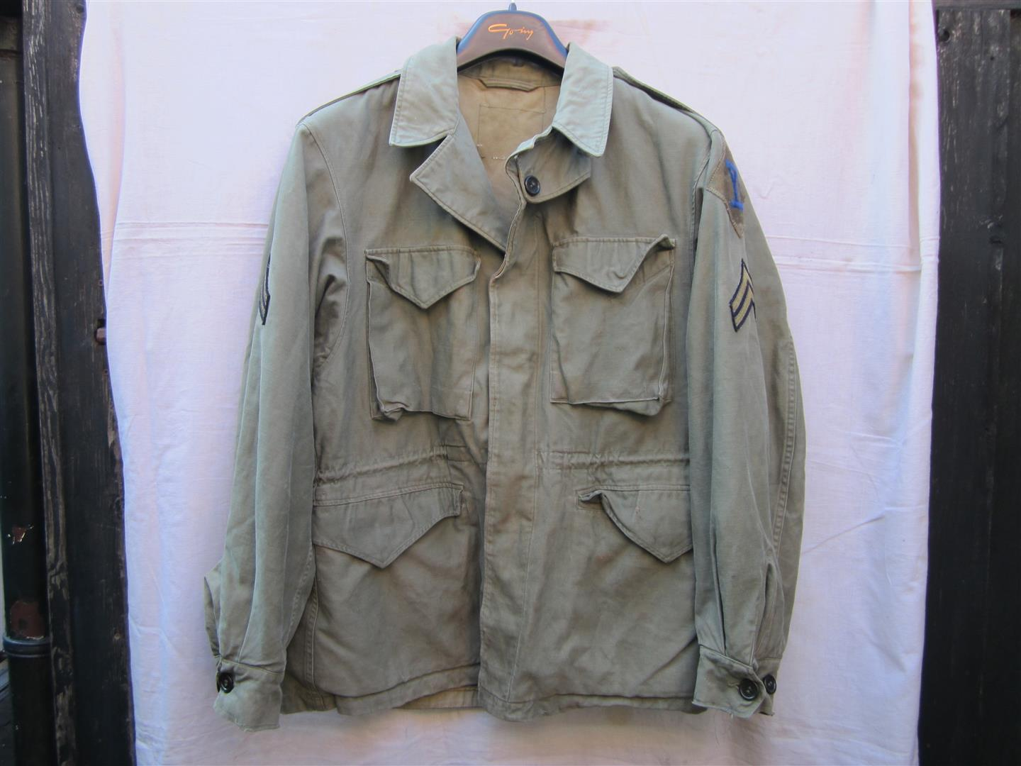 WW2 U.S. M43 Jacket, 26th Inf. Div.