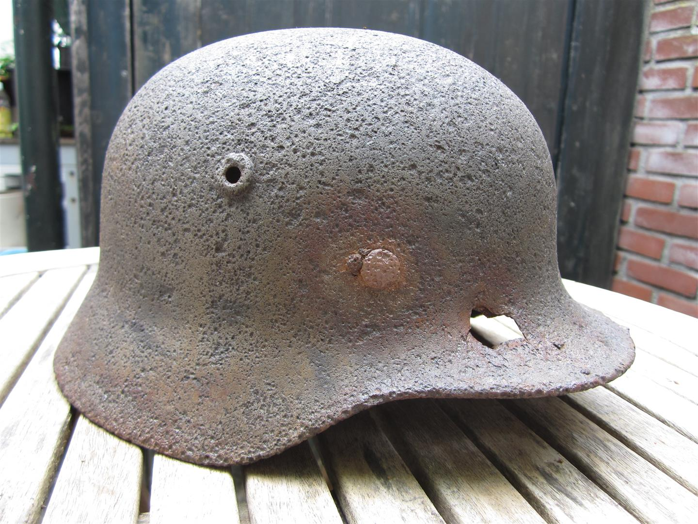 WW2 German M40 Relic Helmet Shell