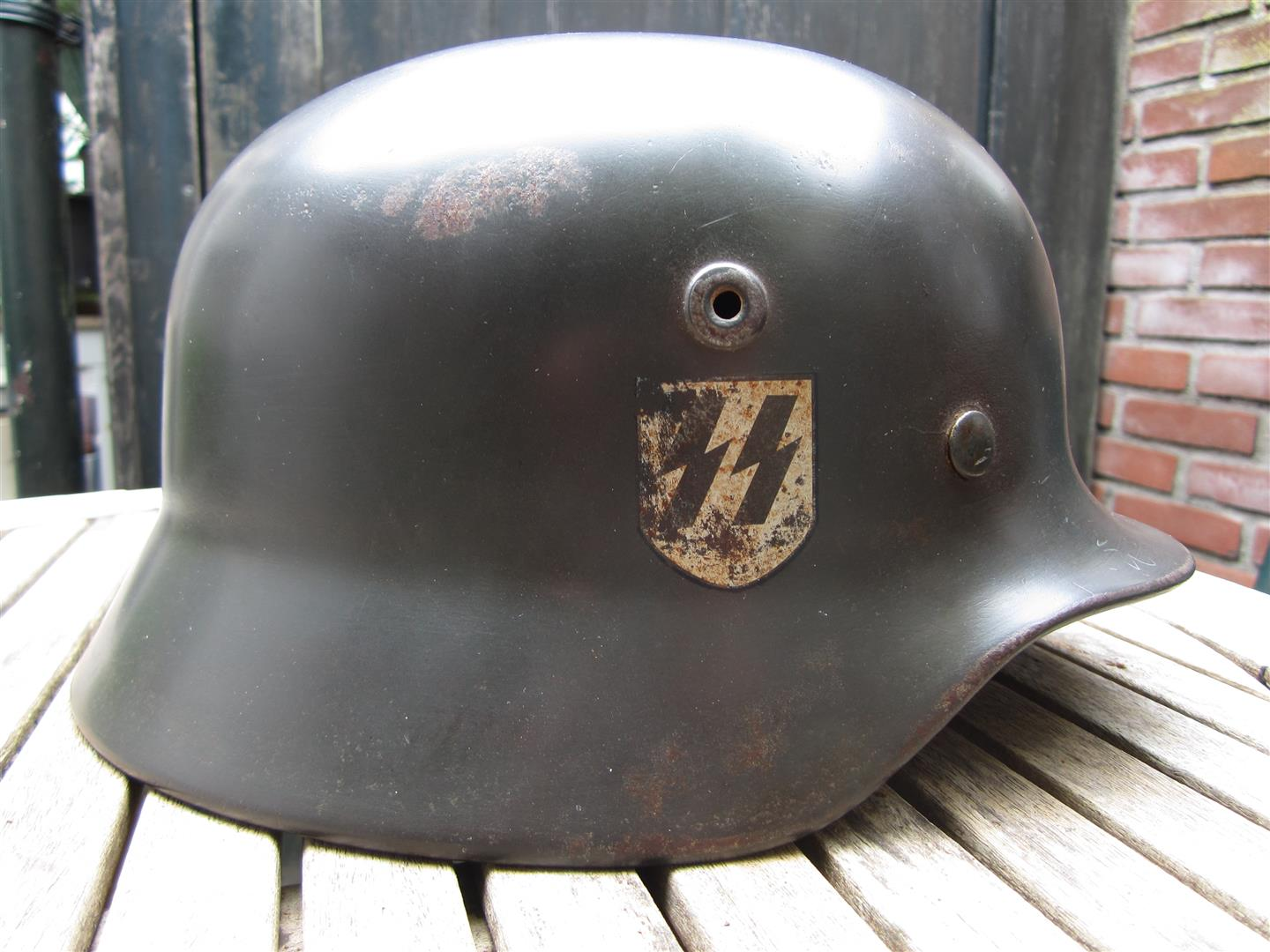WW2 German M40 SS Helmet
