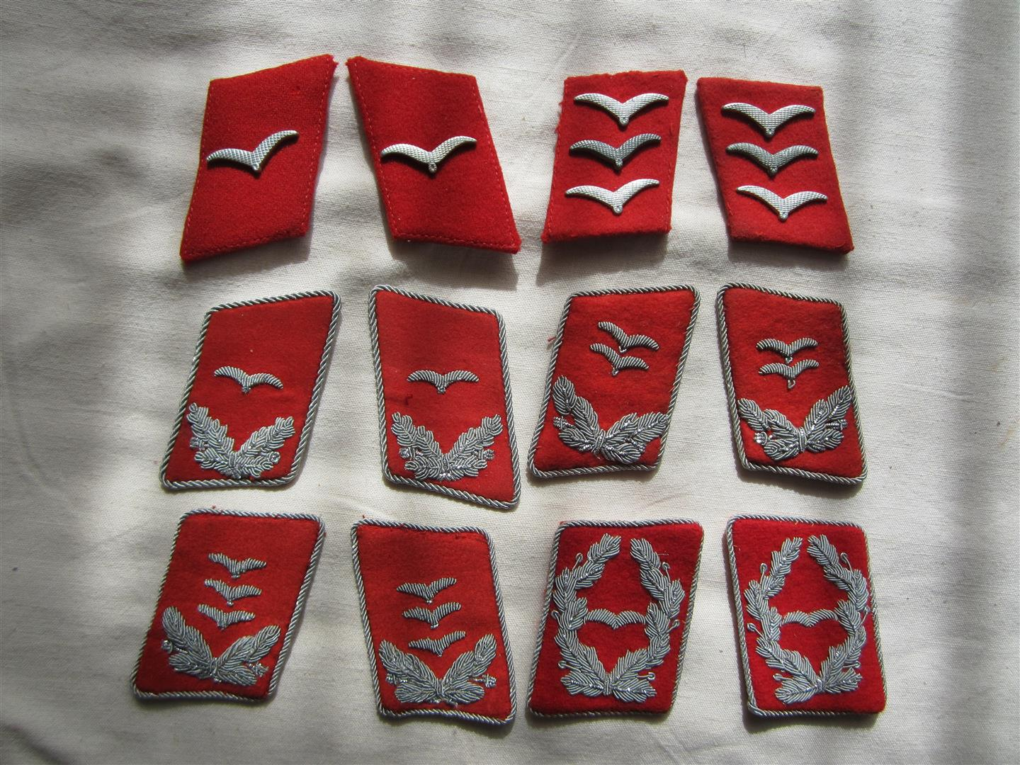 WW2 Collection Of WL Flak Collar Patches