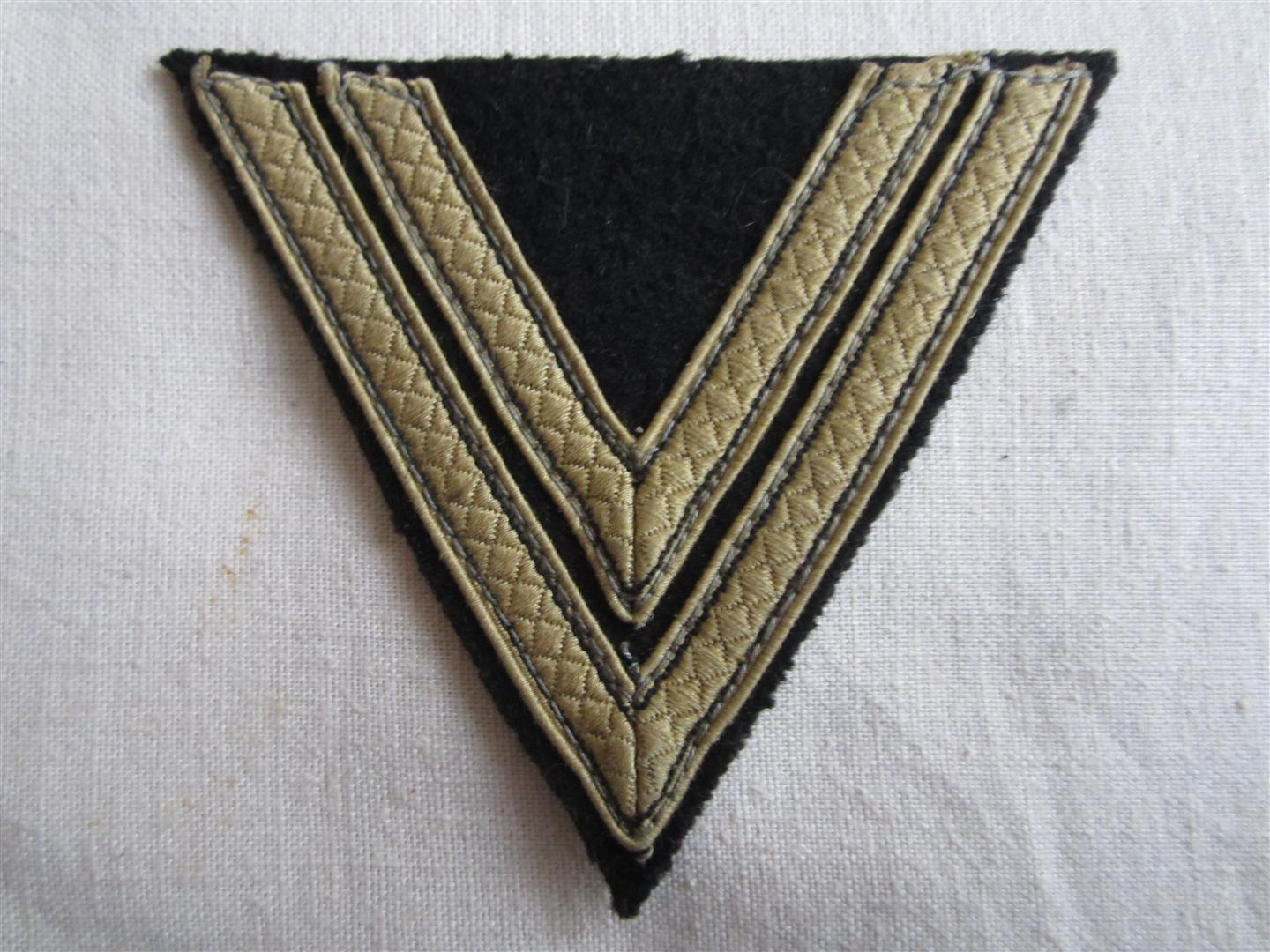 WW2 SS Tropical Rottenfuhrer Chevron