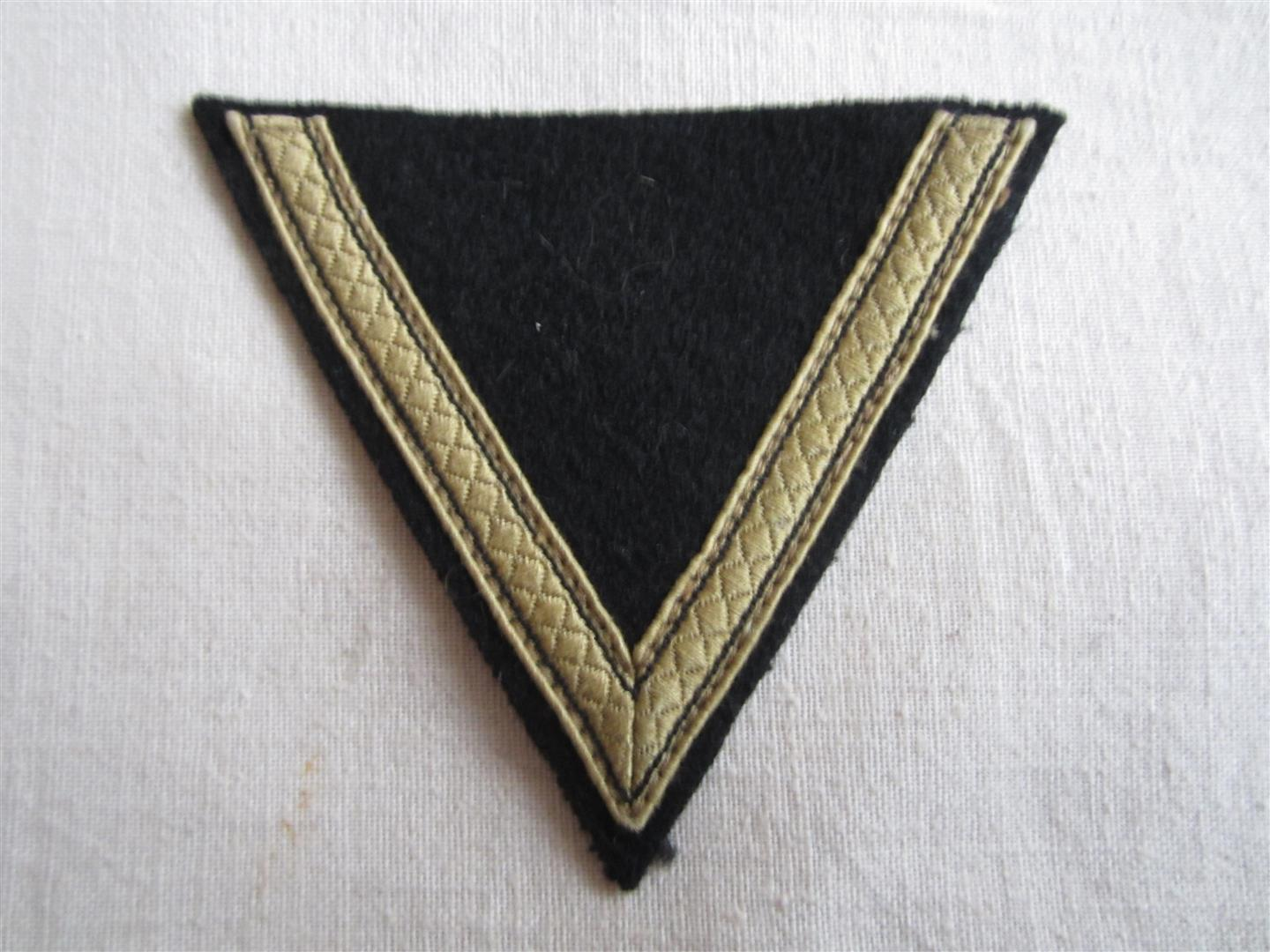 WW2 SS Tropical Sturmmann Chevron