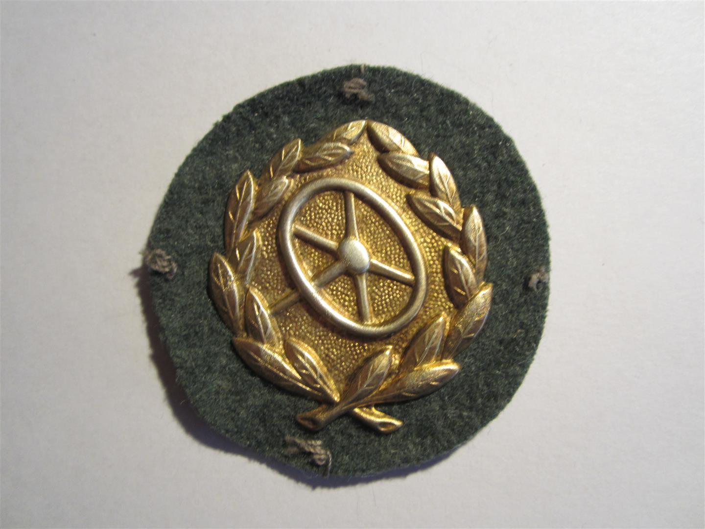 WW2 German Driver's qualification Badges