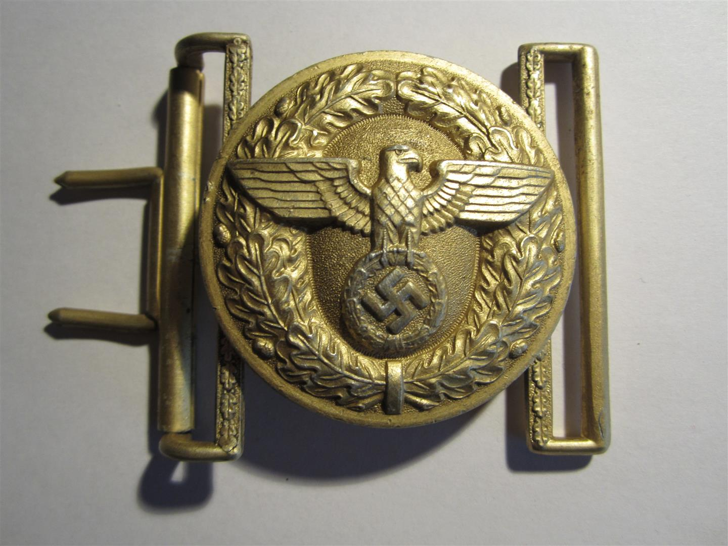 WW2 NSDAP Gauleiter's Belt Buckle