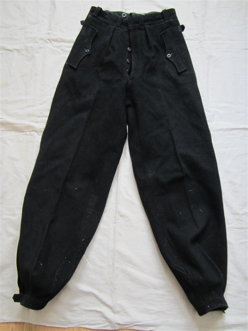 WW2 German Panzer Trousers