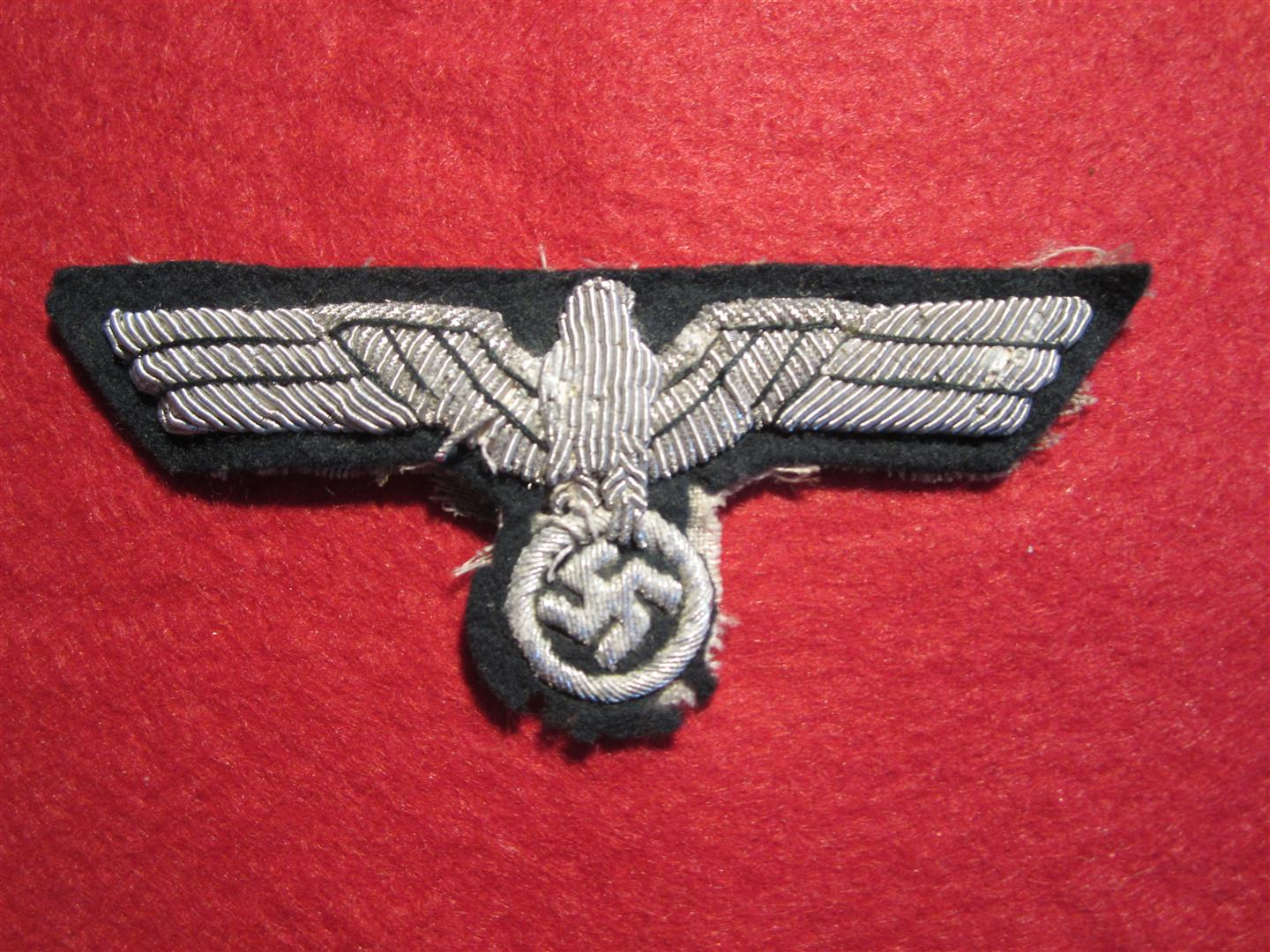 WW2 German WH Officer's Breast Eagle