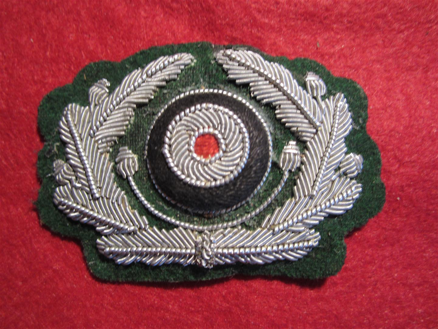 WW2 German WH Officer's Cap Wreath