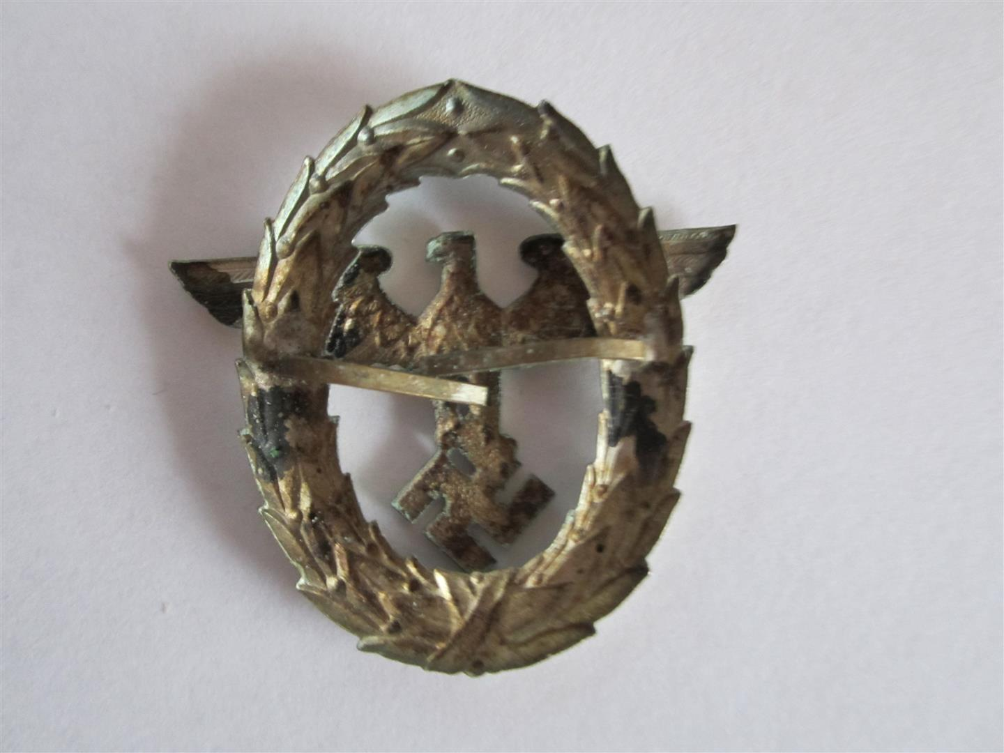WW2 German Politzei Cap Eagle
