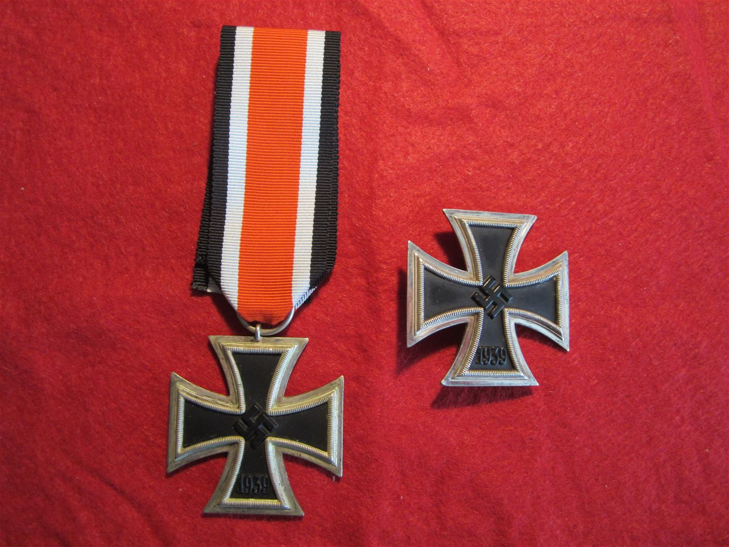WW2 German Iron Crosses