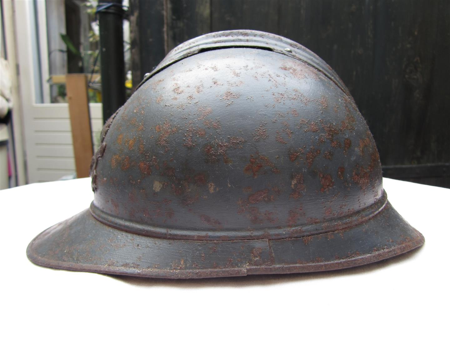 WW1 French Artillery Helmet