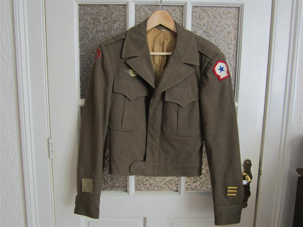 U.S. Ike Jacket, 85th Inf Div