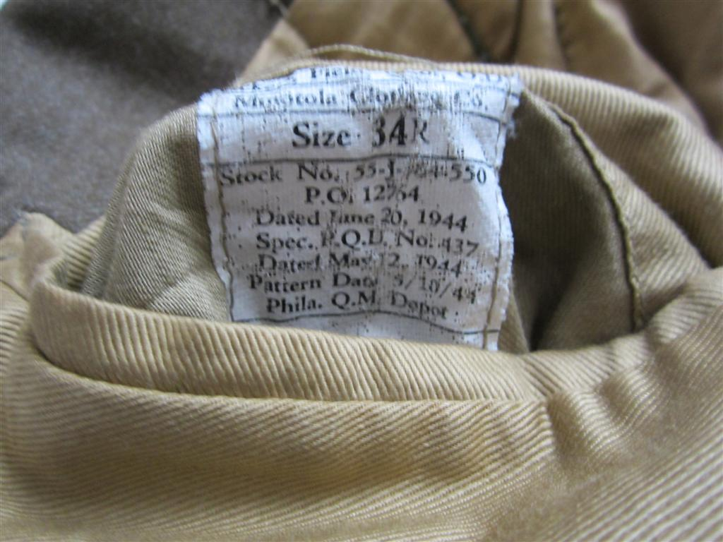 Ike Jacket, 85th Inf Div